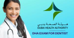 DHA exam for a dentist
