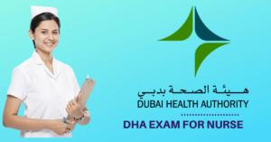 DHA exam for a Nurse